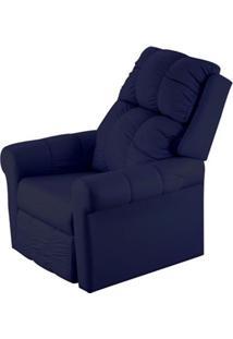 Poltrona Reclinavel Mh 3601 Corino Azul - 16651 - Sun House