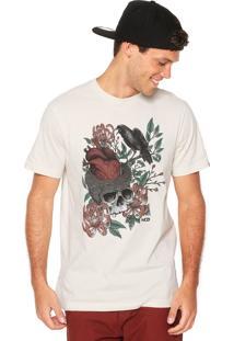Camiseta Mcd Head Heart Bege