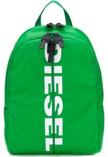 Diesel Mochila Com Ajuste Por Cordão - Verde