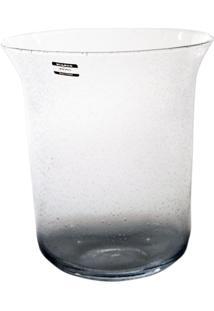 Vaso Bianco E Nero 26,5 X 23,5 Cm Transparente - Kanui