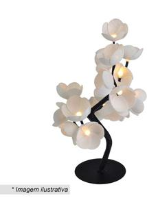 Luminária Árvore Luz De Fada Lotus- Branca- 35X26X13Cormilu