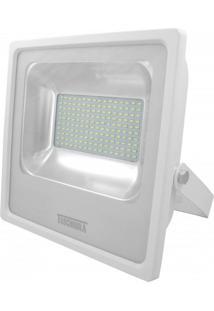 Refletor Led 100W Luz Branca 6500K Taschibra Branco