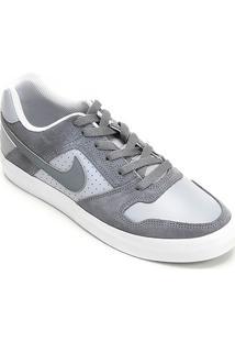 Tênis Nike Sb Delta Force Vulc Masculino - Masculino-Cinza+Branco