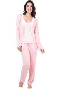 Pijama Viscolycra Homewear Rosa | 589.0713