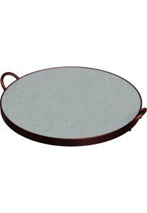Assadeira De Pedra Sabão Para Pizza 1099029 Tramontina
