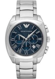 8ca2f098937 Relógio Masculino Emporio Armani Gamma Ar1938 1An Ar1938 1An - Masculino -Prata