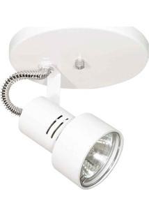 Spot Pipe Lixado Para 1 Lâmpada Dicróica Gu10 50W Thema