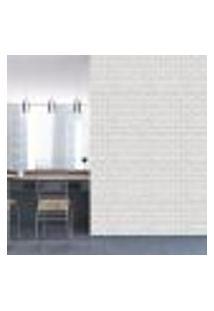 Papel De Parede Adesivo - Tijolos Brancos - 367Ppp
