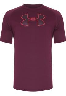 Camiseta Masculina Brazil Big - Vermelho