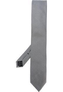 Tom Ford Gravata De Seda Com Padronagem - Grey