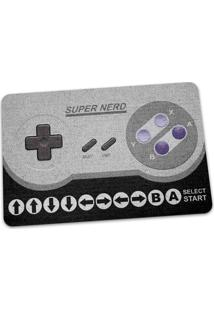 Capacho Ecológico Gamer Cheat Code 16-Bits Geek10 - Cinza