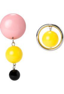 Brinco Assimétrico Esferas