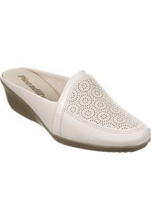 Sapato Feminino Piccadilly Sola Tr Bege - Nap Are / Vnz Are - 144007