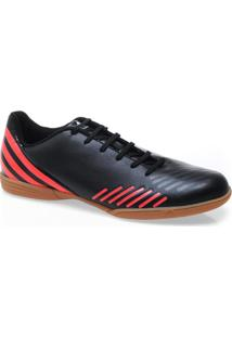Tenis Masc Adidas Q20932 Predito Lz In Preto/Vermelho