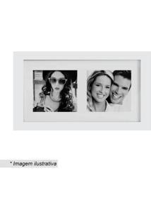 Painel Insta Para 2 Fotos- Branco- 15X28X1,5Cm- Kapos