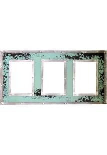 Porta Retrato Kasa Ideia Verde 46X26Cm