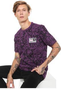 Camiseta Fatal Estampada Roxa