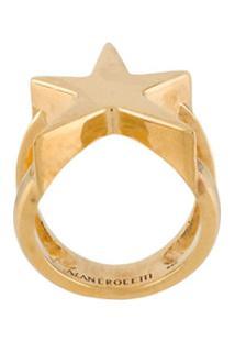 Alan Crocetti Anel De Estrela - Dourado