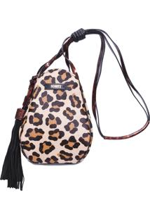 Bolsa Feminina Natural - Animal Print