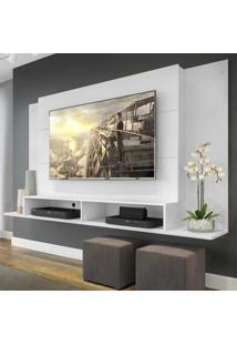 Painel Tã³Kio Multimã³Veis Para Tv De Atã© 60 Polegadas Com Nicho - Branco - Branco/Incolor - Dafiti