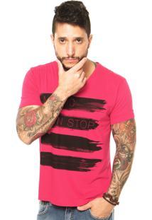 Camiseta Triton Music Rosa