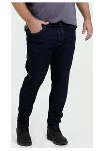 Calça Masculina Jeans Skinny Plus Size Mix Jeans
