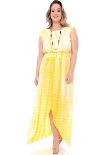 Vestido Tye Dye Longo Plus Size