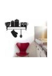 Adesivo De Parede Para Cozinha Suporte De Produto - Médio