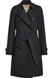 Burberry Trench Coat The Kensington Heritage - Azul