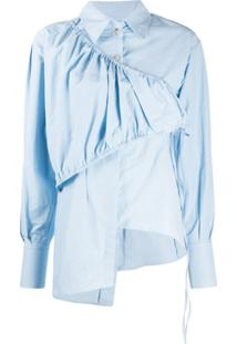 Andersson Bell Blusa Daphne - Azul