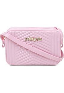 Bolsa Petite Jolie Mini Bag Pop Express Feminina - Feminino-Rosa