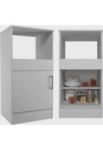Cozinha Compacta Completa Marajã³ C/ 6 Portas 2 Gavetas Branco Nova Mobile - Branco - Dafiti