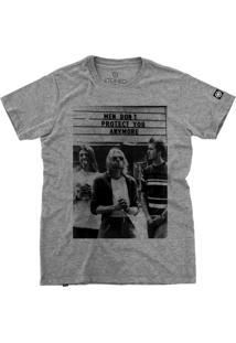 Camiseta Stoned Nirvana Cinza