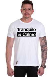 Camiseta Lucas Lunny T Shirt Gola Redonda Branca
