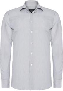 Camisa Masculina Social Comfort - Branco