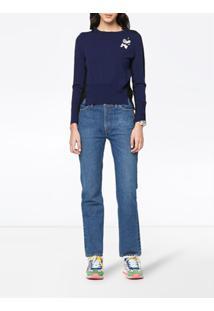 Marc Jacobs Suéter Bicolor Diy - Azul