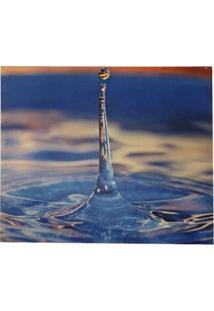 Quadro Gotad´ Água Decorativo Sala Escri Tela Tecido Lona