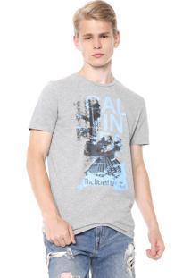 Camiseta Calvin Klein Jeans Industry Cinza