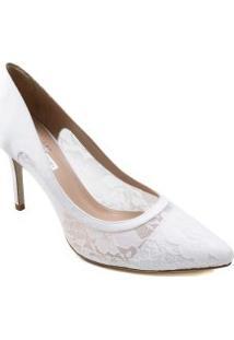 Sapato Zariff De Noivas Scarpin Telha