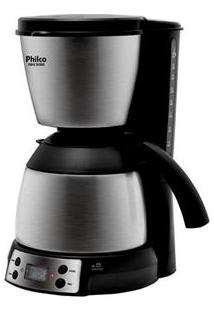 Cafeteira Elétrica Philco Phd40 Thermo - Preto/Aço Escovado