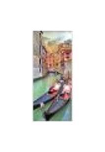 Adesivo Decorativo De Porta - Veneza - 168Pt-P Auto Colante