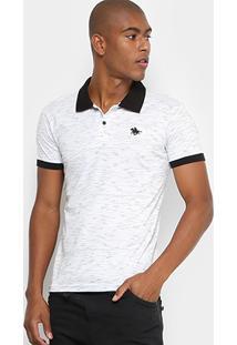 Camisa Polo Rg 518 Rabiscada Bordado Masculina - Masculino
