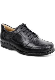 Sapato Social Masculino Conforto Sandro Moscoloni New Joe Preto