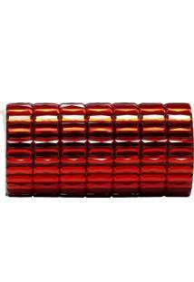 Bolsa Clutch Cristal Veleno Vermelha