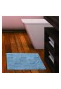 Tapete Neo Cotton Prime 0,50X0,70 Azul Camesa