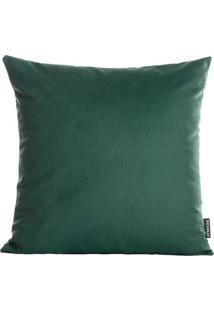 Capa Para Almofada Velvet- Verde- 45X45Cm- Stm Hstm Home