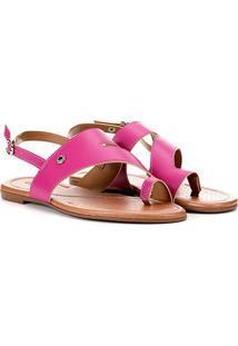 Rasteira Azaleia Dedo - Feminino-Pink