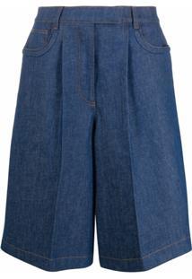 Fendi Bermuda Jeans - Azul