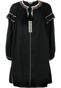 Isabel Marant Étoile Flared Style Dress - Preto