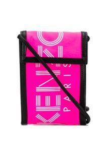 Kenzo Logo Camera Bag - Rosa
